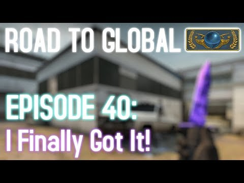 I GOT MY KNIFE! - CS:GO Road to Global Episode 40