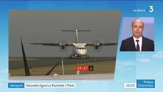 Thomas Juin, directeur de l'aéroport La Rochelle-île de Ré invité du 12h-13h
