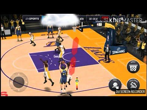 Super Close Game VS Magic Johnson!!! NBA Live Mobile Gameplay