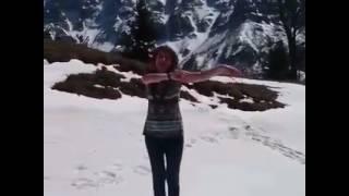 Снег и солнце в Грузии