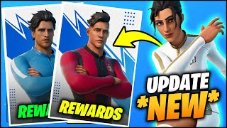 Everything NEW in FORTNITE v15.21 SOCCER SKINS EVENT (New Soccer Teams, Free REWARDS, PELÉ Cups)