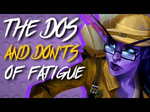 THE DO'S AND DONT'S OF FATIGUE DECKS - Standard Constructed - The Witchwood