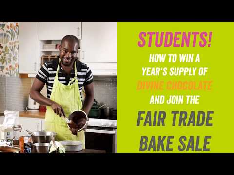 Fair Trade Bake Sale: How to Sign Up as a Student