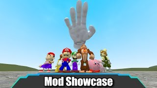 This Isn't The Smash Bros I Remember... (SSB NPCs + Master Hand!) | Garry's Mod | Mod Showcase
