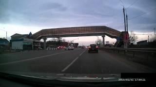 Краснодарский край, Энем ДТП Jetta+Corolla