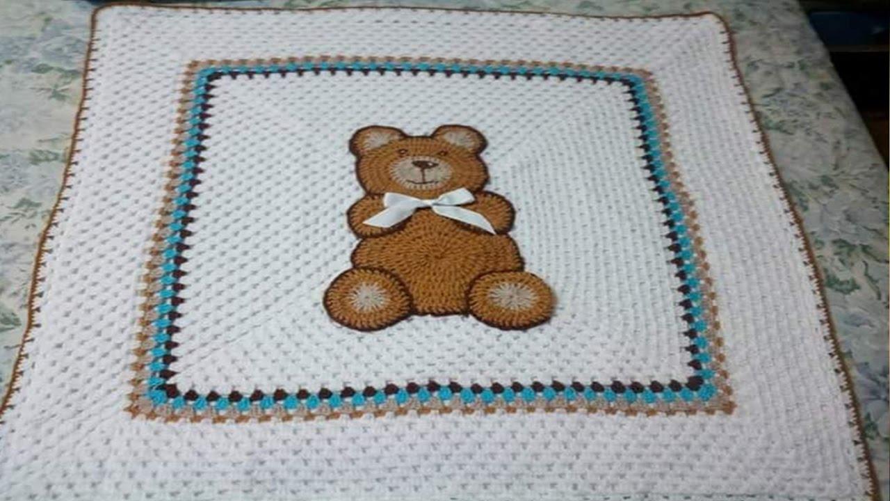 Cobijas y colchas para bebes tejidos a crochet n 08 youtube - Colchas tejidas a crochet ...