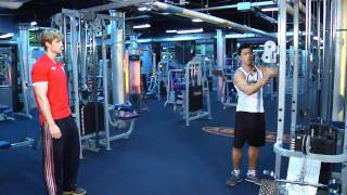 Advanced gym rountines for men
