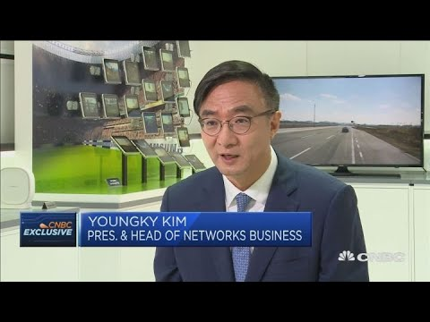 Samsung Electronics on its 5G ambitions   Squawk Box Europe