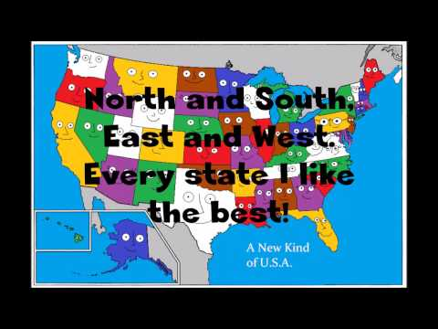 There Are States In The USA Vocal