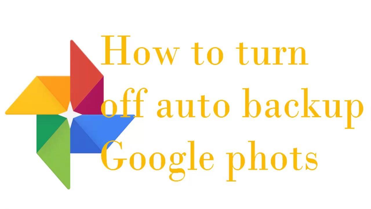 how do i delete auto backup photos