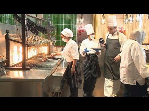 أخبار حصريه - طاهيات سعوديات يتميزن بفنون #الطبخ_العالمي  - 19:24-2017 / 11 / 22