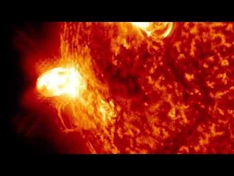 NASA | Late Summer M5 Solar Flare