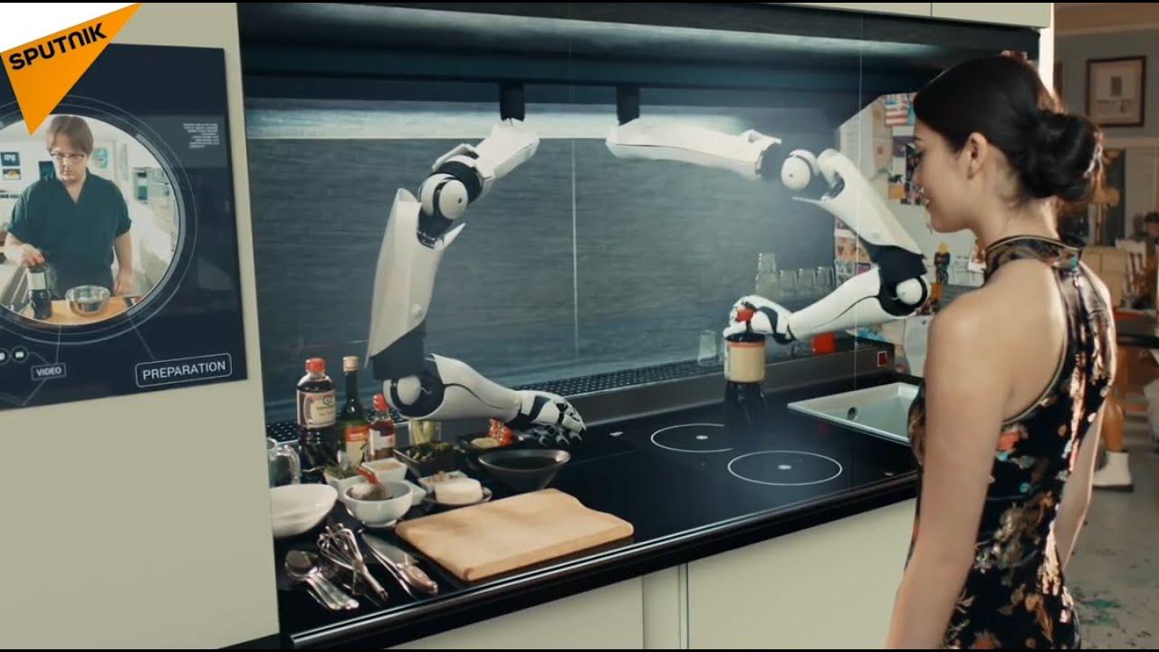 la premi re cuisine robotis e au monde youtube. Black Bedroom Furniture Sets. Home Design Ideas