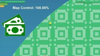 Paper.io 3 Map Control: 100.00% [Monet]