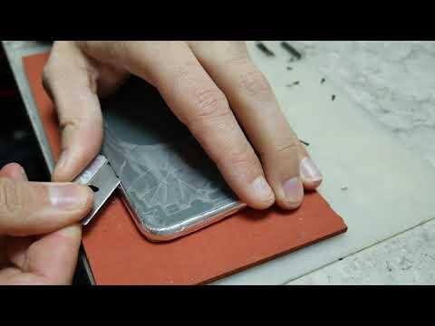 Iphone 11 Pro Max/  Замена задней крышки на Лазере, без разборки / 11 Pro Max Backglass Replacement