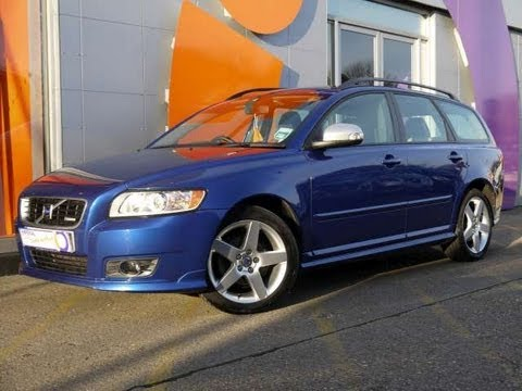 2009 Volvo V50 RDesign 20 Blue For Sale In Hampshire  YouTube