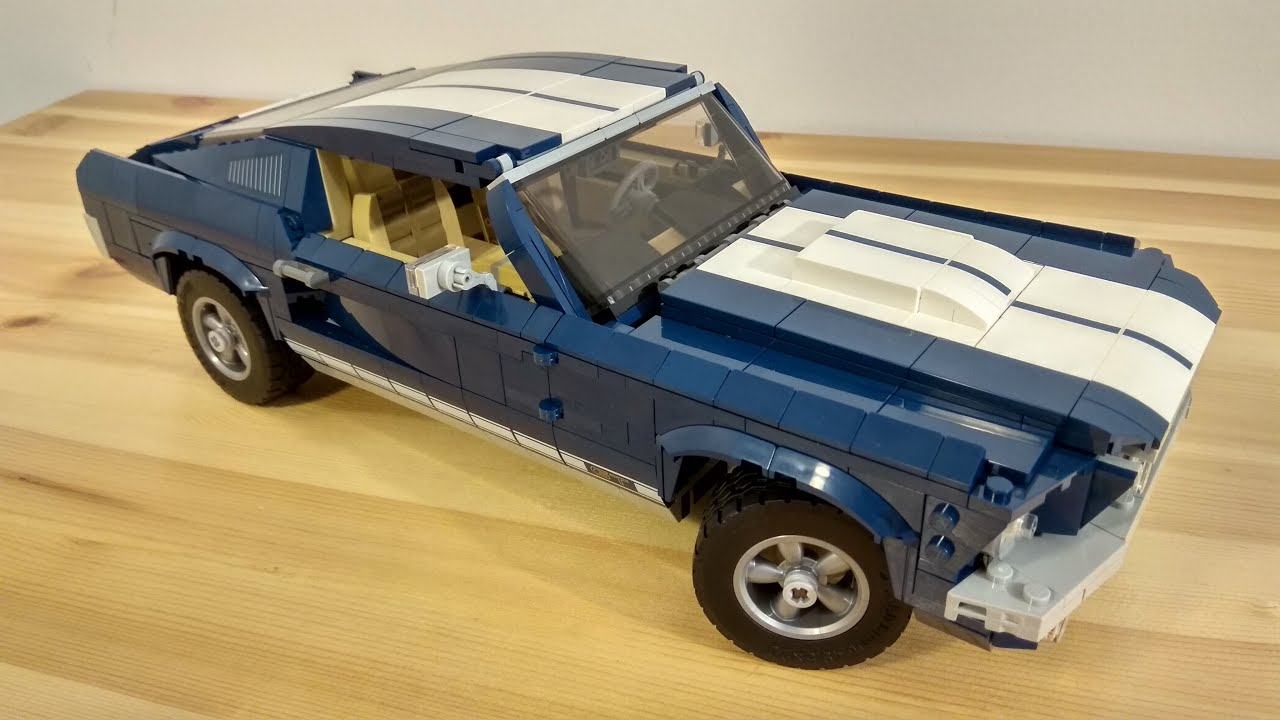 Lego 10265 Ford Mustang Creator Expert Features Youtube