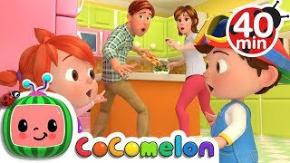 Johny Johny Yes Papa (Parents Version) | +More Nursery Rhymes & Kids Songs - Cocomelon (ABCkidTV)