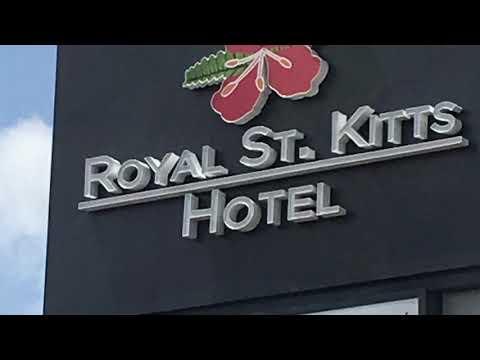 Andy & Francis at the Royal St. Kitts Hotel