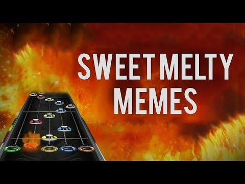 Sweet Melty Memes but it's a Custom Guitar Hero Song