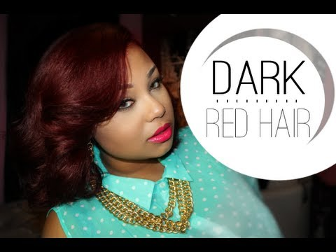 How To New Dark Red Hair Ft L Oreal Hicolor Hilights