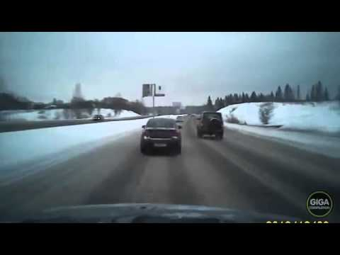 Дорожные аварии с видеорегистратора
