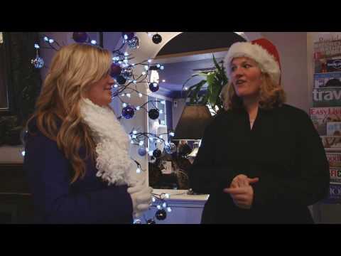 Nantwich Santa Dash - Marie-Clare Scott Interview (X Factor Contestant)