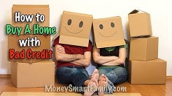 How to Buy A Home with Bad Credit and No Money Down/ First Time Home Buyer