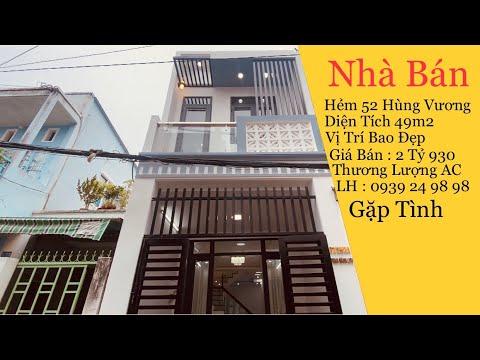 Nha Bán Cần Thơ   Bán Nhà Trệt Lầu Hẻm 52 Hùng Vương Phường Thới Bình Quận Ninh Kiều TP Cần Thơ