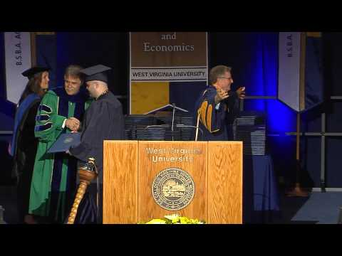 College of Business and Economics Commencement, 2015: West Virginia University