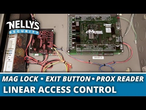 How to Wire a Linear Access Control System - YouTubeYouTube