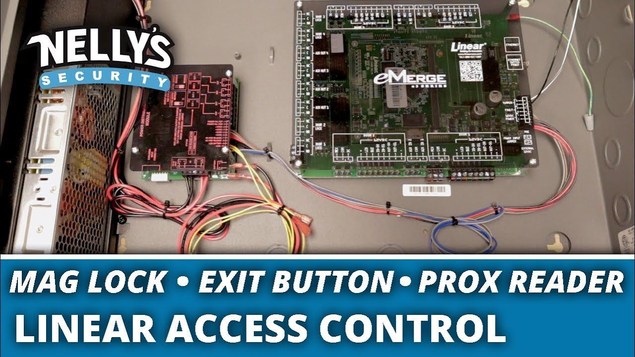 How to Wire a Linear Access Control System