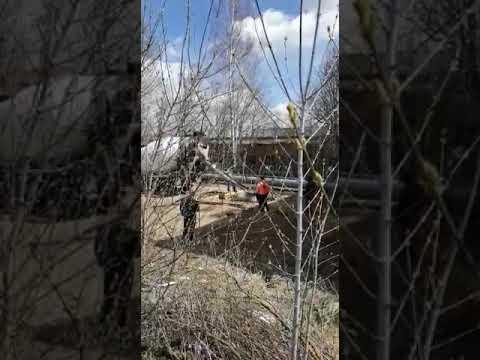 В Спас-Клепиках продолжается стройка сотовой вышки