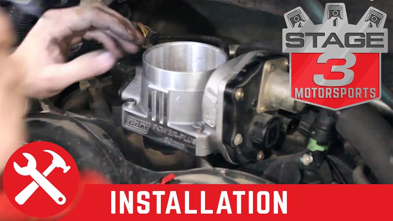 2004-2008 F-150 5 4L V8 BBK 80mm Throttle Body Install