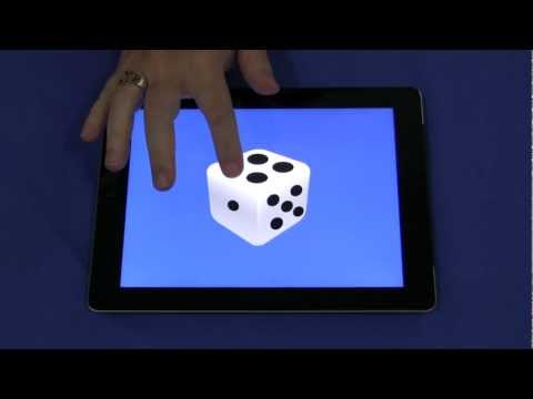 Colours and Numbers Dice iPad App