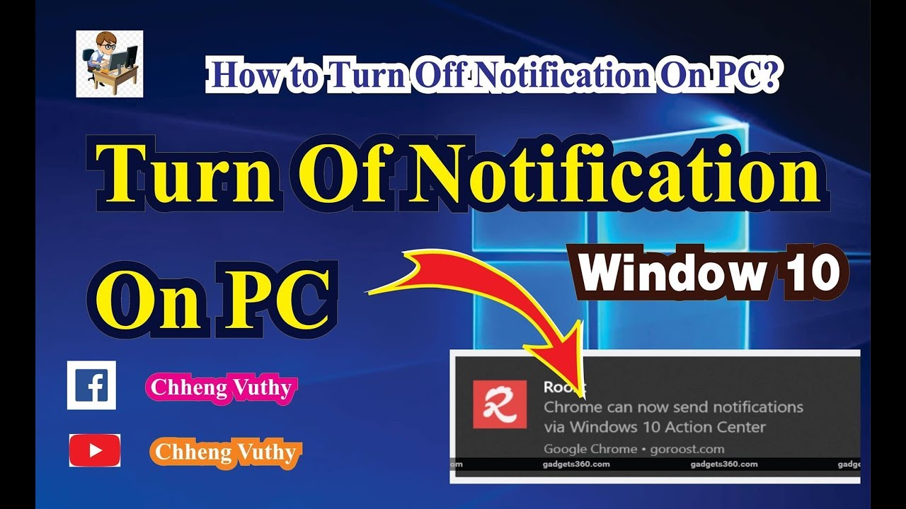 Turn Off Notifications on Windows 10 How to Turn Off Notification On PC