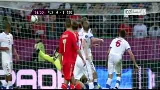 Russia - Czech Republic 4-1  Euro 2012.mp4