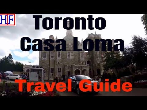 Toronto | Casa Loma - Museum and Landmark | Travel Guide | Episode# 14