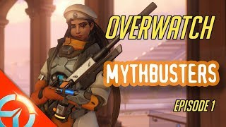 Overwatch Mythbusters EP.1   Does Damage Boost/Damage Reduction Stack ? Can Reinhardt Charge Furthe