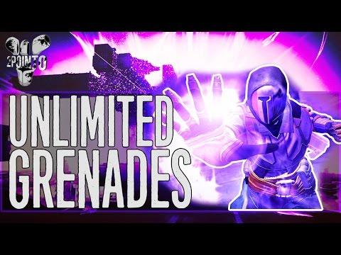 "Destiny: ""UNLIMITED GRENADES"" - How to get Unlimited Grenades in Destiny - Voidwalker Energy Drain"