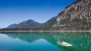 Sylvenstein - Sylvenstein Dam (Oberbayern/Upper Bavaria) - Wandern / Hiking - Nikon D5100 -DSLR