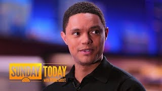 How Trevor Noah Steers 'The Daily Show' In The Age Of Trump | Sunday TODAY