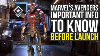 Marvel's Avengers Game Info You Need To Know Before Launch (Marvel Avengers Gameplay)
