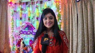 Bhojpuri Actress शुभी शर्मा Celebrating Ganesh Chaturthi 2017