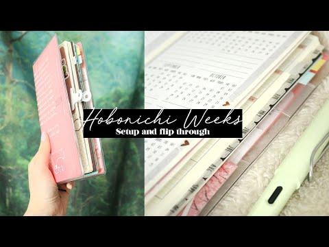 Hobonichi Weeks Setup Finance and Journal