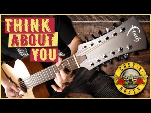 'Think About You' by Guns N' Roses | ACOUSTIC COVER