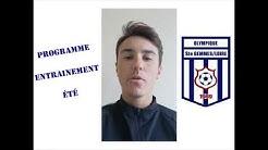 Olympique Sainte-Gemmes-sur-Loire U17 - Entrainements d'été - épisode 1