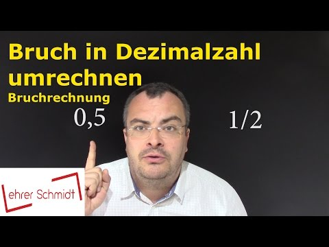 Dezimalzahl in Bruch umwandeln from YouTube · Duration:  5 minutes 45 seconds