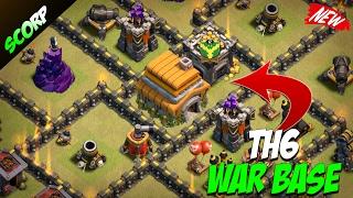 Clash Of Clans - TH6 WAR BASE/ 2017 DESIGN