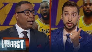 Download Frank Vogel dismisses rumors LeBron will play PG - Cris & Nick react | NBA | FIRST THINGS FIRST Mp3 and Videos
